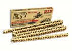 Exclusive racing chain D.I.D Chain 520ERV7 120 L Gold/Gold