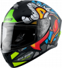 FULL FACE helmet AXXIS DRAKEN ABS parrot a1 matt black XL