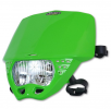 Headlight UFO PF01707-026 CRUISER Green