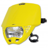 Headlight UFO PF01707-102 CRUISER Yellow
