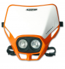 Headlight UFO PF01700-127 FIREFLY TWINS Orange