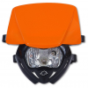 Headlight UFO PF01709-F001 PANTHER Dual color Orange-Black