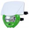 Headlight UFO PF01709-W026 PANTHER Dual color White-green