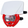 Headlight UFO PF01709-W070 PANTHER Dual color White-red
