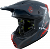 MX helmet AXXIS WOLF ABS star track b5 red matt XS